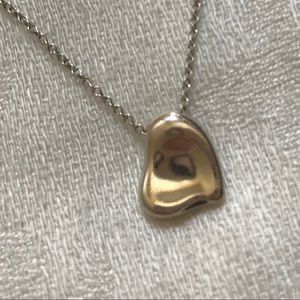 Tiffany 925 Silver Full Heart Necklace